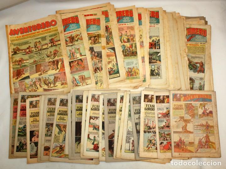 AVENTURERO: 105 COMICS-HISPANO AMERICANA-(1935). (Tebeos y Comics - Cliper - Aventurero)