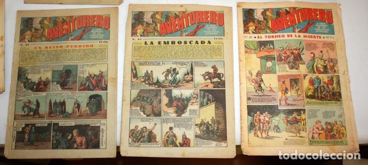 Tebeos: AVENTURERO: 105 COMICS-HISPANO AMERICANA-(1935). - Foto 2 - 137815302