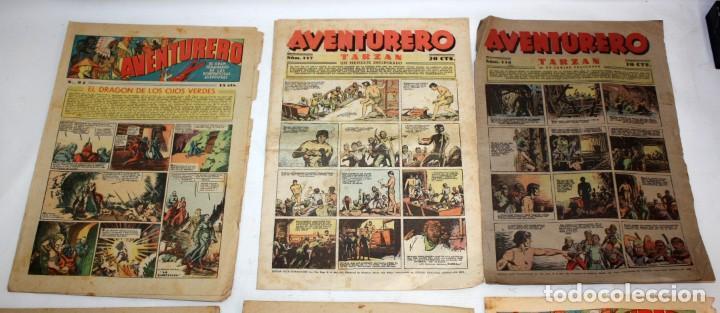 Tebeos: AVENTURERO: 105 COMICS-HISPANO AMERICANA-(1935). - Foto 3 - 137815302