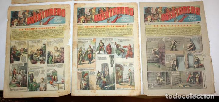 Tebeos: AVENTURERO: 105 COMICS-HISPANO AMERICANA-(1935). - Foto 4 - 137815302