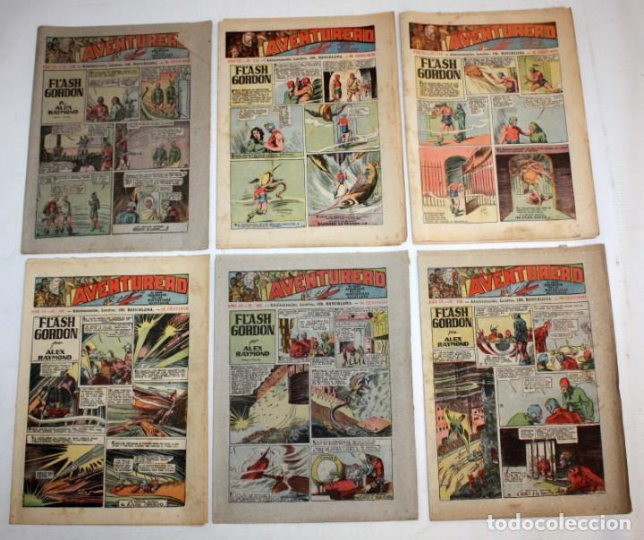 Tebeos: AVENTURERO: 105 COMICS-HISPANO AMERICANA-(1935). - Foto 5 - 137815302