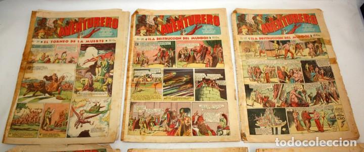 Tebeos: AVENTURERO: 105 COMICS-HISPANO AMERICANA-(1935). - Foto 8 - 137815302