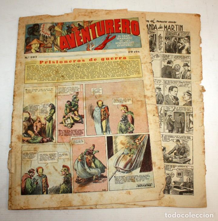 Tebeos: AVENTURERO: 105 COMICS-HISPANO AMERICANA-(1935). - Foto 10 - 137815302