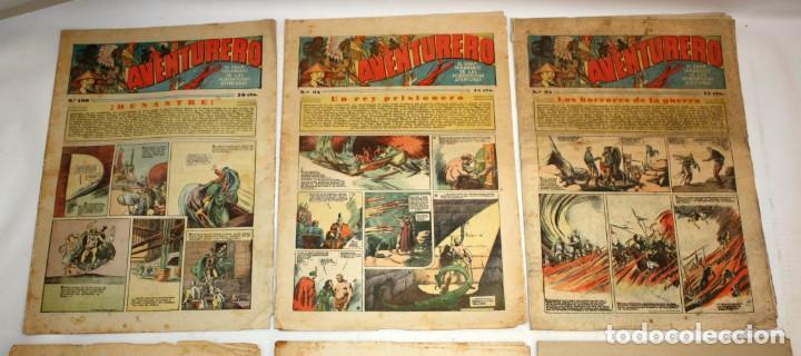 Tebeos: AVENTURERO: 105 COMICS-HISPANO AMERICANA-(1935). - Foto 12 - 137815302