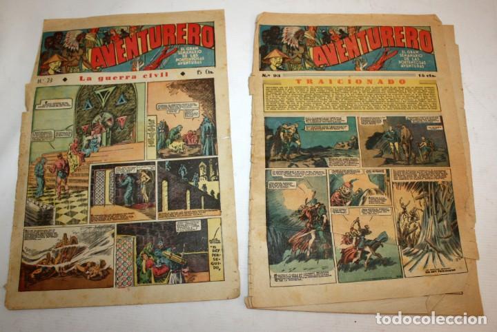 Tebeos: AVENTURERO: 105 COMICS-HISPANO AMERICANA-(1935). - Foto 16 - 137815302