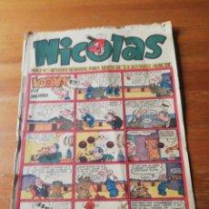 Tebeos: NICOLAS AÑO VI. N. 128. Lote 138934866