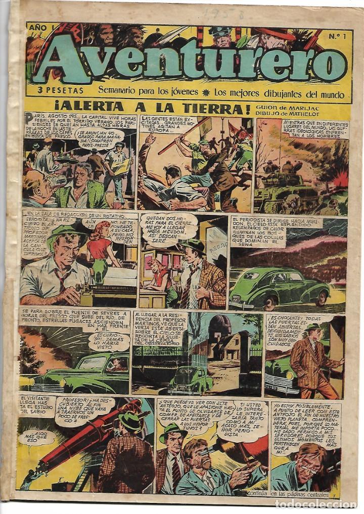 AVENTURERO, AÑO 1.953. COLECCIÓN COMPLETA SON 38. TEBEOS ORIGINALES EDITORIAL CLIPER. (Tebeos y Comics - Cliper - Aventurero)