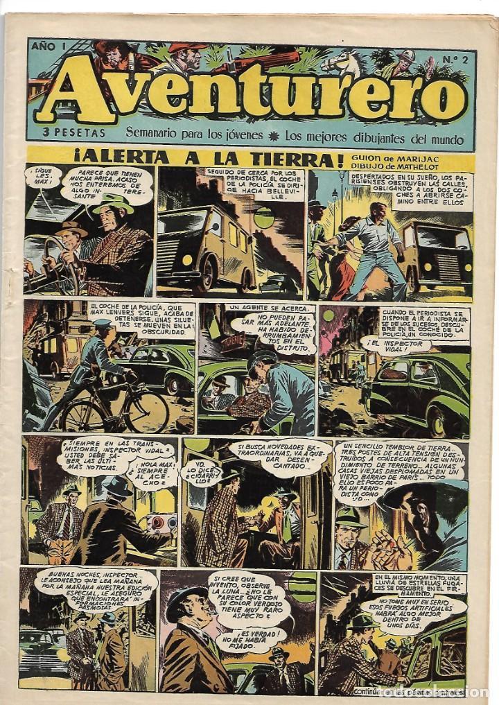 Tebeos: Aventurero, Año 1.953. Colección Completa son 38. Tebeos Originales Editorial Cliper. - Foto 3 - 138943094