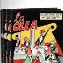Tebeos: LA OLLA, AÑO 1.958. COLECCIÓN COMPLETA SON 4. TEBEOS ORIGINALES MUY NUEVOS EDITORIAL CLIPER.. Lote 139094014