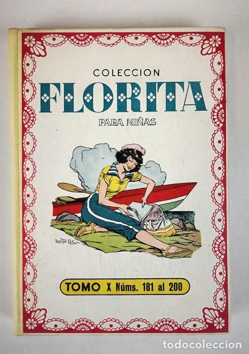Tebeos: COLECCIÓN DE FLORITA. 145 REVISTA PARA NIÑAS. EDIT CLIPER. ESPAÑA. CIRCA 1950. - Foto 2 - 139546206