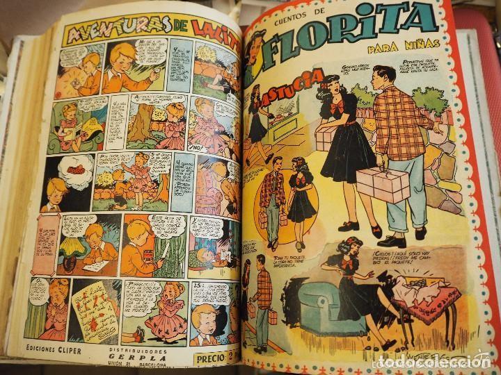 COLECCIÓN FLORITA PARA NIÑAS, TOMO II NUMS 21 AL 40. VICENTE ROSO. EDICIONES CLIPER. (Tebeos y Comics - Cliper - Florita)
