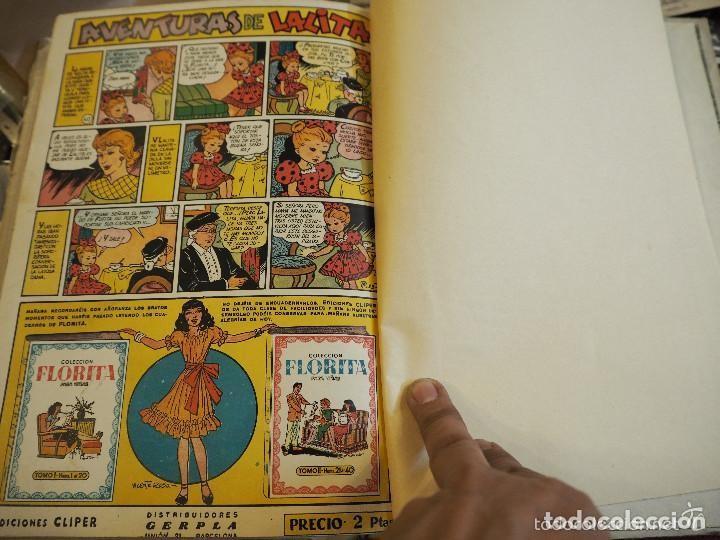 Tebeos: Colección Florita para niñas, Tomo II nums 21 al 40. Vicente Roso. Ediciones Cliper. - Foto 4 - 139661910