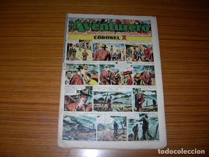 AVENTURERO Nº 22 EDITA CLIPER (Tebeos y Comics - Cliper - Aventurero)