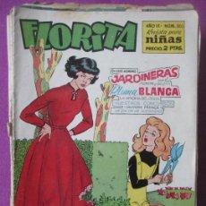 Tebeos: LOTE 81 TEBEOS FLORITA, TEBEO REVISTA PARA NIÑAS, ED. CLIPER, VER DESCRIPCION, VER FOTOS ADICIONALES. Lote 140819778