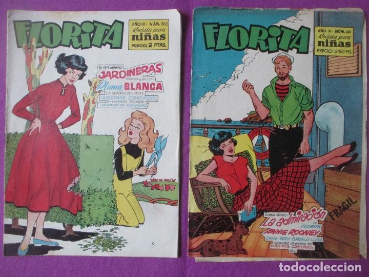 Tebeos: LOTE 81 TEBEOS FLORITA, TEBEO REVISTA PARA NIÑAS, ED. CLIPER, VER DESCRIPCION, VER FOTOS ADICIONALES - Foto 2 - 140819778