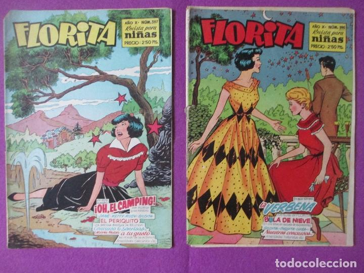 Tebeos: LOTE 81 TEBEOS FLORITA, TEBEO REVISTA PARA NIÑAS, ED. CLIPER, VER DESCRIPCION, VER FOTOS ADICIONALES - Foto 3 - 140819778