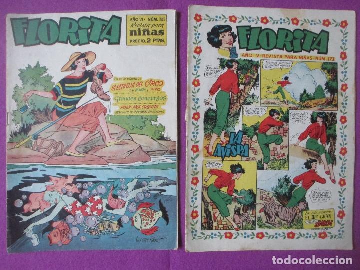 Tebeos: LOTE 81 TEBEOS FLORITA, TEBEO REVISTA PARA NIÑAS, ED. CLIPER, VER DESCRIPCION, VER FOTOS ADICIONALES - Foto 6 - 140819778