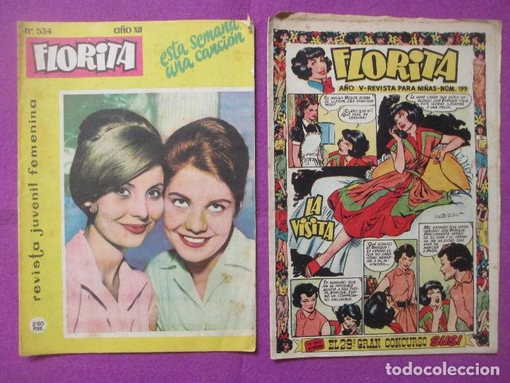 Tebeos: LOTE 81 TEBEOS FLORITA, TEBEO REVISTA PARA NIÑAS, ED. CLIPER, VER DESCRIPCION, VER FOTOS ADICIONALES - Foto 9 - 140819778