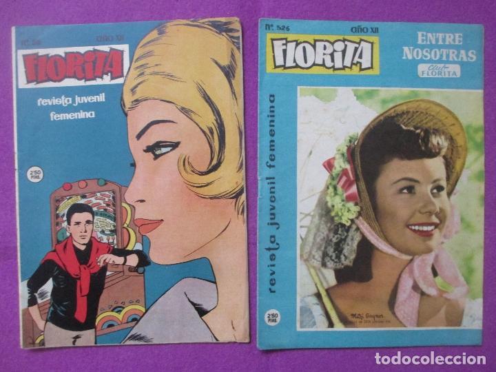 Tebeos: LOTE 81 TEBEOS FLORITA, TEBEO REVISTA PARA NIÑAS, ED. CLIPER, VER DESCRIPCION, VER FOTOS ADICIONALES - Foto 12 - 140819778