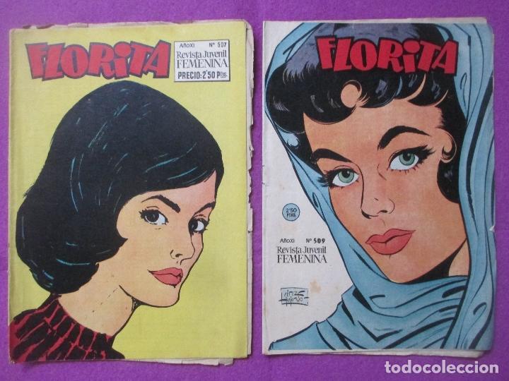 Tebeos: LOTE 81 TEBEOS FLORITA, TEBEO REVISTA PARA NIÑAS, ED. CLIPER, VER DESCRIPCION, VER FOTOS ADICIONALES - Foto 15 - 140819778