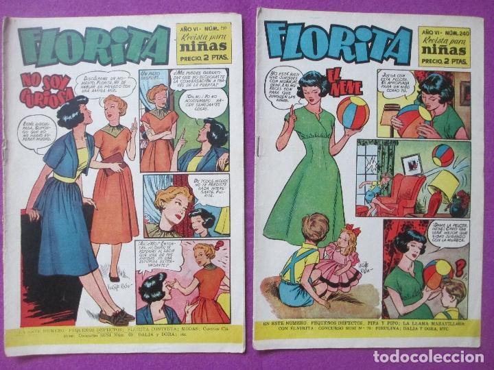 Tebeos: LOTE 81 TEBEOS FLORITA, TEBEO REVISTA PARA NIÑAS, ED. CLIPER, VER DESCRIPCION, VER FOTOS ADICIONALES - Foto 16 - 140819778