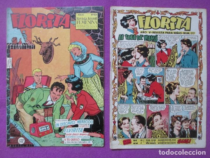 Tebeos: LOTE 81 TEBEOS FLORITA, TEBEO REVISTA PARA NIÑAS, ED. CLIPER, VER DESCRIPCION, VER FOTOS ADICIONALES - Foto 21 - 140819778