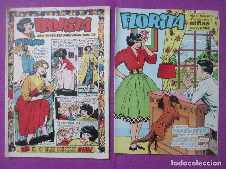 Tebeos: LOTE 81 TEBEOS FLORITA, TEBEO REVISTA PARA NIÑAS, ED. CLIPER, VER DESCRIPCION, VER FOTOS ADICIONALES - Foto 26 - 140819778