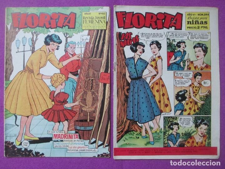 Tebeos: LOTE 81 TEBEOS FLORITA, TEBEO REVISTA PARA NIÑAS, ED. CLIPER, VER DESCRIPCION, VER FOTOS ADICIONALES - Foto 30 - 140819778