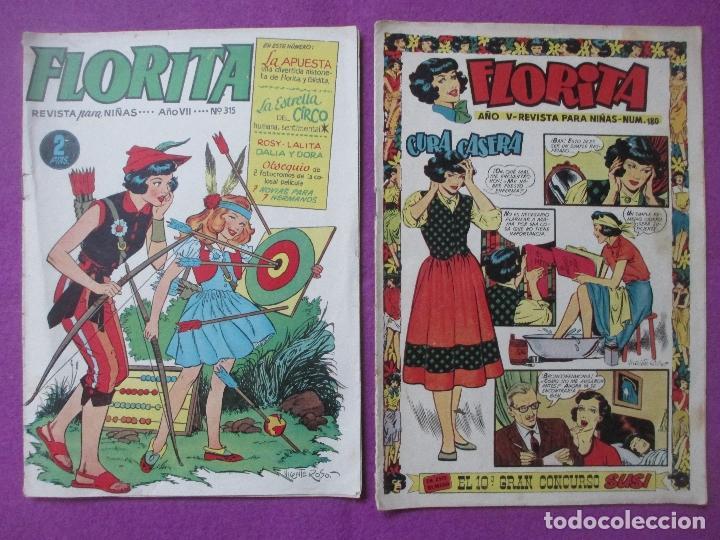Tebeos: LOTE 81 TEBEOS FLORITA, TEBEO REVISTA PARA NIÑAS, ED. CLIPER, VER DESCRIPCION, VER FOTOS ADICIONALES - Foto 41 - 140819778