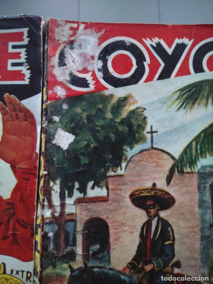 Tebeos: EL COYOTE EXTRAORDINARIO -- EDICIONES CLIPER AÑOS 40 -- LOTE DE 7 EJEMPLARES -- - Foto 3 - 142191986