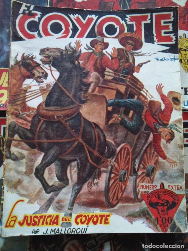 Tebeos: EL COYOTE EXTRAORDINARIO -- EDICIONES CLIPER AÑOS 40 -- LOTE DE 7 EJEMPLARES -- - Foto 4 - 142191986