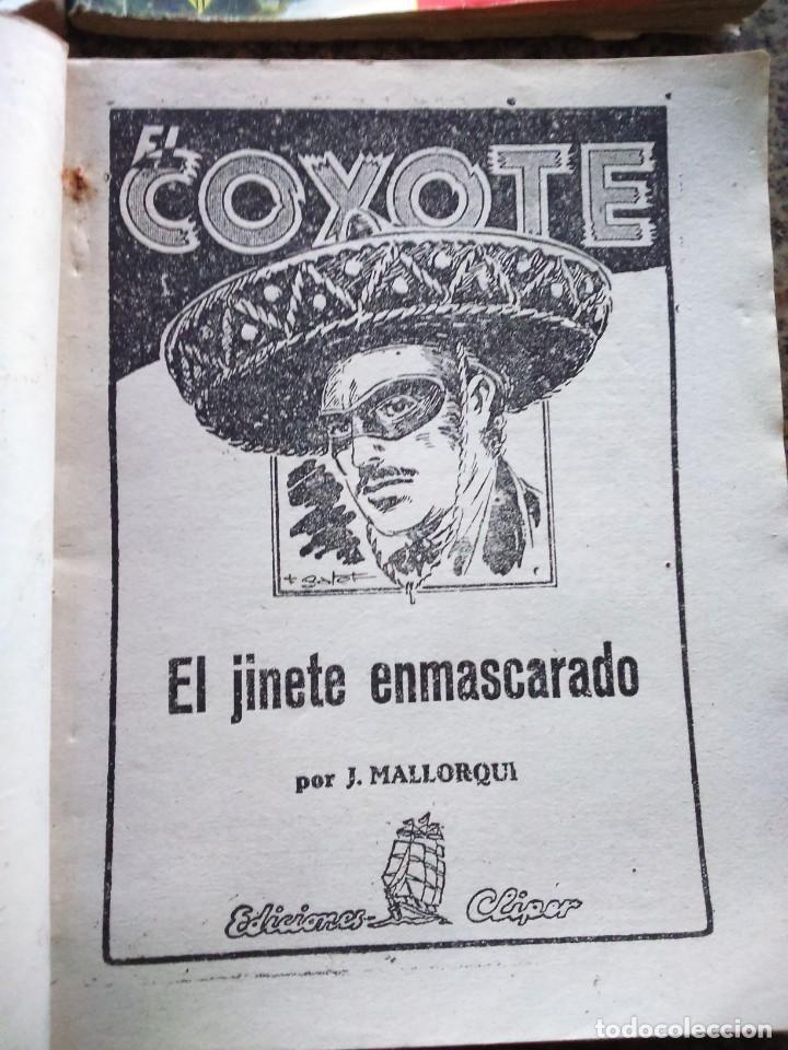 Tebeos: EL COYOTE EXTRAORDINARIO -- EDICIONES CLIPER AÑOS 40 -- LOTE DE 7 EJEMPLARES -- - Foto 5 - 142191986