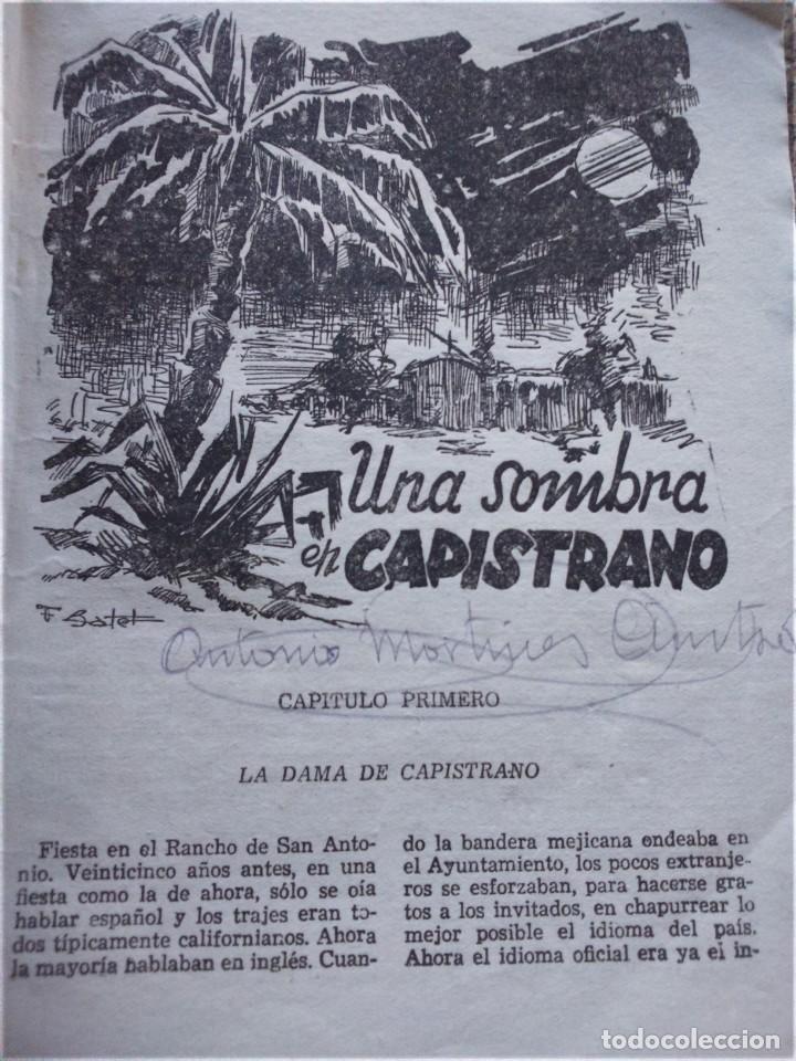 Tebeos: EL COYOTE EXTRAORDINARIO -- EDICIONES CLIPER AÑOS 40 -- LOTE DE 7 EJEMPLARES -- - Foto 7 - 142191986