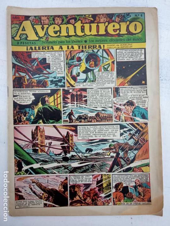 AVENTURERO ORIGINAL Nº 8 - CLIPER, VER IMAGENES (Tebeos y Comics - Cliper - Aventurero)