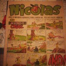 Tebeos: NICOLAS. AÑO VI. N°163. Lote 142343414
