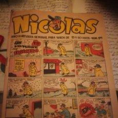 Tebeos: NICOLAS,. AÑOS VI. N°171. Lote 142343564