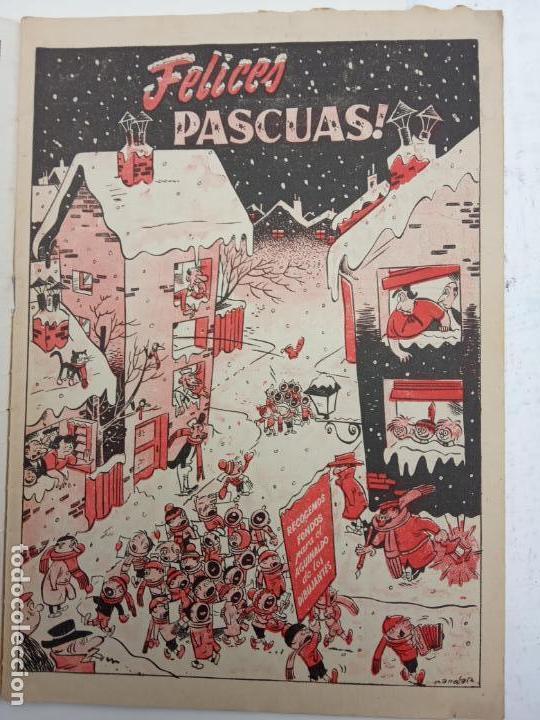 Tebeos: ALMANAQUE NICOLÁS ORIGINAL PARA 1953 - EDICIONES CLIPER - Foto 3 - 142465402