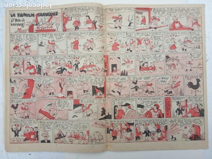 Tebeos: ALMANAQUE NICOLÁS ORIGINAL PARA 1953 - EDICIONES CLIPER - Foto 5 - 142465402