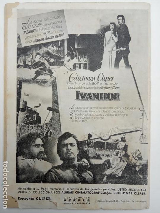 Tebeos: ALMANAQUE NICOLÁS ORIGINAL PARA 1953 - EDICIONES CLIPER - Foto 7 - 142465402