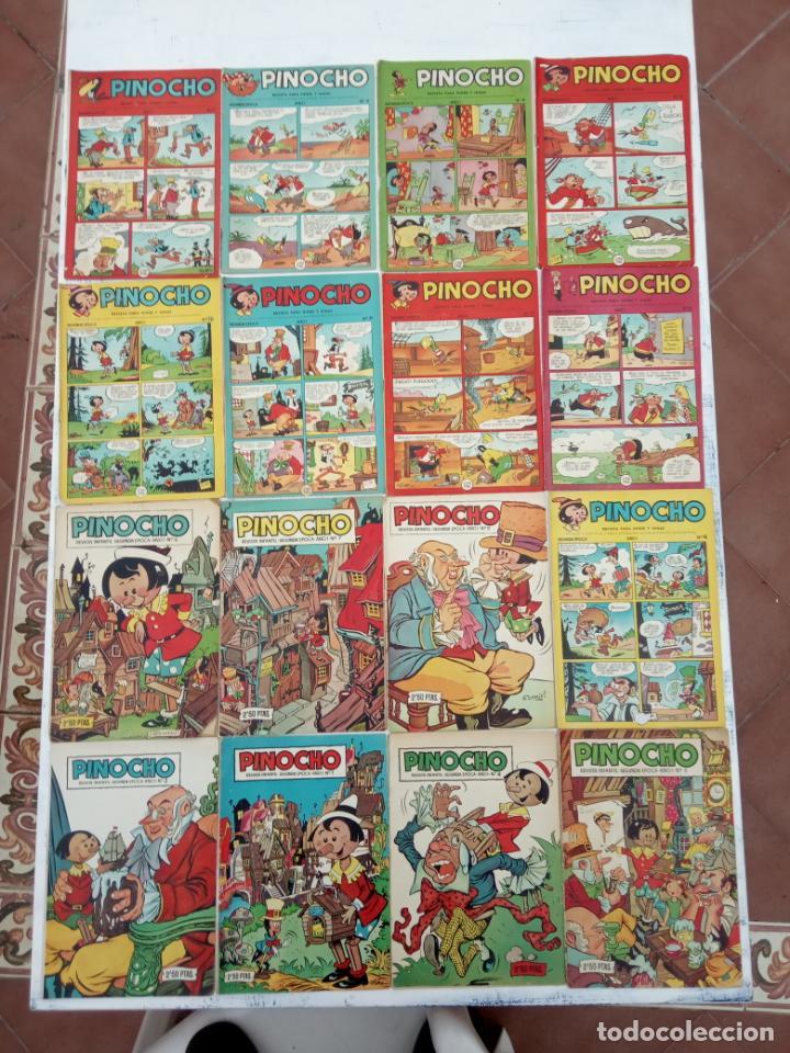 PINOCHO EDITORIAL CLIPER ORIGINAL LOTE 14 NºS - 1,2,4,5,6,12,16,18,22,26,27,28,29,30 VER PORTADAS (Tebeos y Comics - Cliper - Otros)