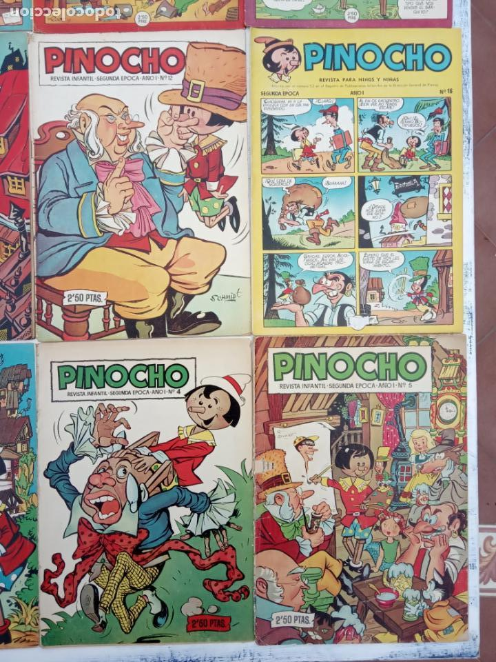Tebeos: PINOCHO EDITORIAL CLIPER ORIGINAL LOTE 14 NºS - 1,2,4,5,6,12,16,18,22,26,27,28,29,30 VER PORTADAS - Foto 6 - 142466706