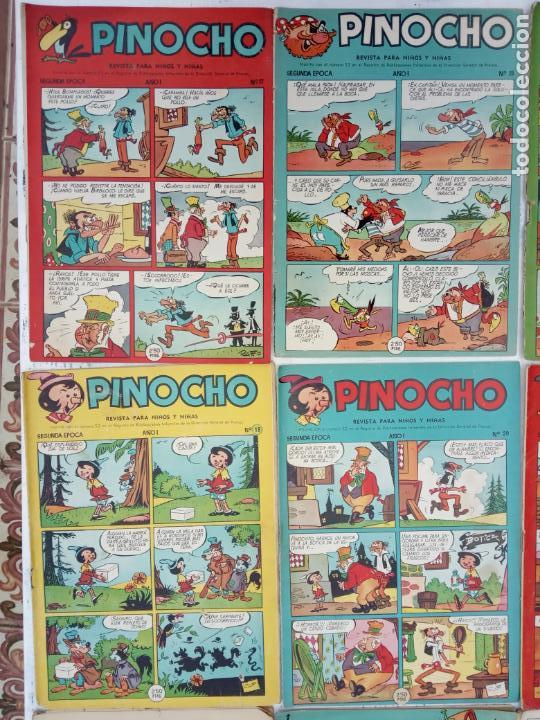 Tebeos: PINOCHO EDITORIAL CLIPER ORIGINAL LOTE 14 NºS - 1,2,4,5,6,12,16,18,22,26,27,28,29,30 VER PORTADAS - Foto 7 - 142466706