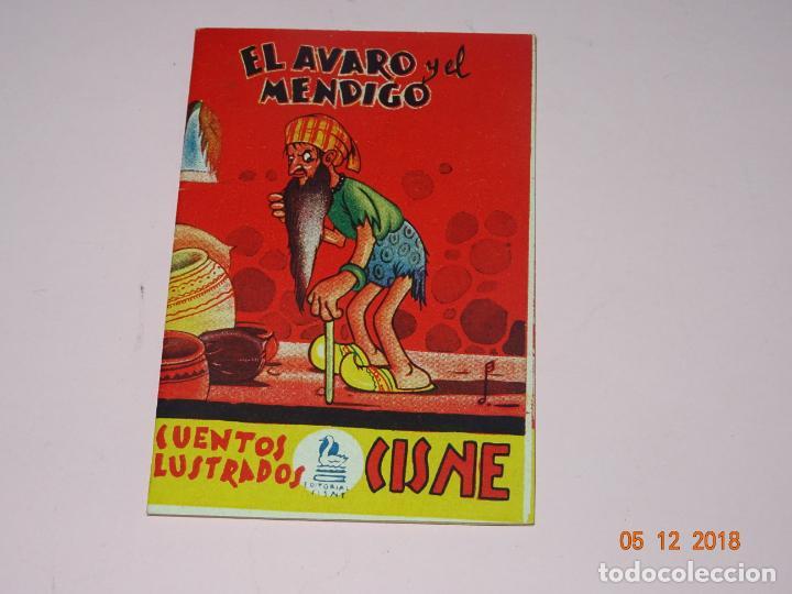 ANTIGUO EL AVARO Y EL MENDIGO DE CUENTOS ILUSTRADOS CISNE COMERCIAL GERPLÁ (Tebeos y Comics - Cliper - Otros)