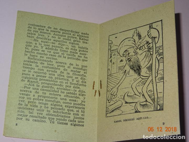 Tebeos: Antiguo EL AVARO Y EL MENDIGO de Cuentos Ilustrados CISNE Comercial GERPLÁ - Foto 3 - 143382198