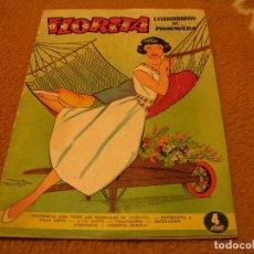 Tebeos: REVISTA JUVENIL FEMENINA FLORITA EXTRAORDINARIO DE PRIMAVERA CLIPER 1958. Lote 143609586