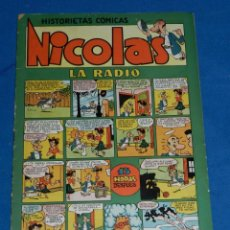 Tebeos: (M7) HISTORIETAS COMICAS NICOLES NUM 19 , EDC CLIPER , ROTURITAS EN EL LOMO. Lote 144444926