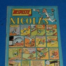 Tebeos: (M7) HISTORIETAS COMICAS NICOLES NUM 29 , EDC CLIPER , ROTURITAS EN EL LOMO. Lote 144445182