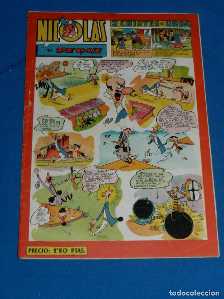 (M7) HISTORIETAS COMICAS NICOLES NUM 61 , EDC CLIPER , SEÑALES DE USO (Tebeos y Comics - Cliper - Nicolas)