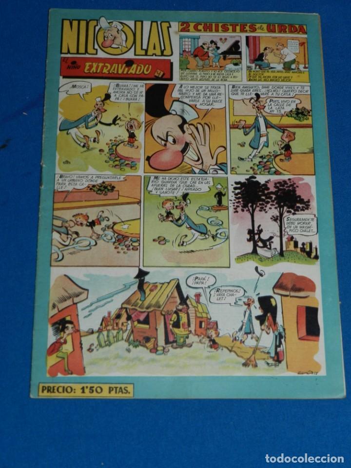 (M7) HISTORIETAS COMICAS NICOLES NUM 62 , EDC CLIPER , SEÑALES DE USO (Tebeos y Comics - Cliper - Nicolas)