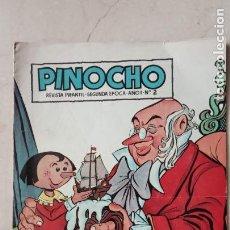 Tebeos: PINOCHO ORIGINAL Nº 2 - EDICIONES CLIPER, MUY BIEN CONSERVADO. Lote 144447558